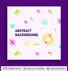 Abstract avangarde retro background vector