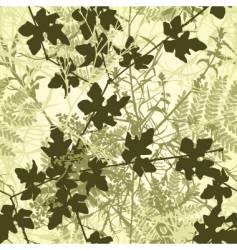 plant tile vector image