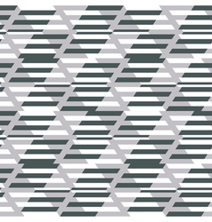 Geometric fashion print vector