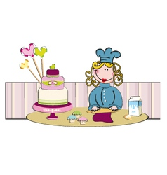 Cakedesign vector