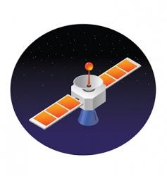 satellite space vector image