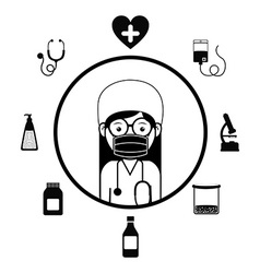 Doctor design vector