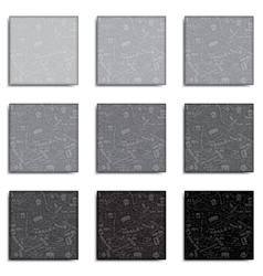 Abstract square frame sale set vector