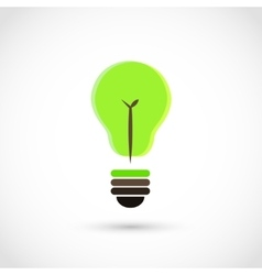 Bulb tree vector image