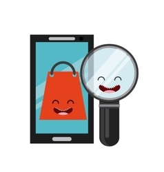 buy online character icon vector image