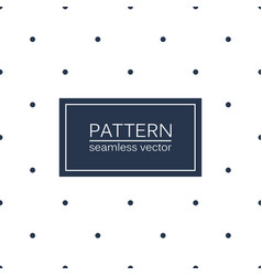 dotted seamless minimalistic pattern vector image vector image