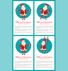 merry christmas and text vector image vector image
