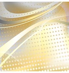Yellow halftone pattern vector