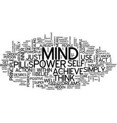 Your mind and its super powers hidden within text vector