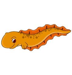 Electric eel cartoon vector image