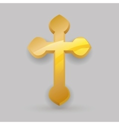 Religion cross design vector