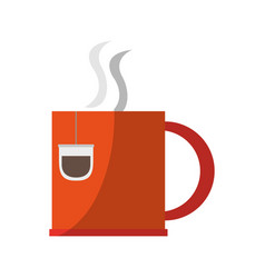 Coffee mug icon vector