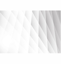 abstract geometric background modern design white vector image