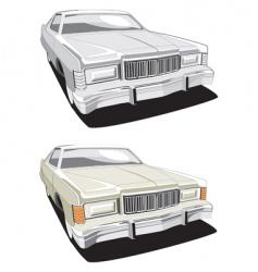 American car vector image vector image