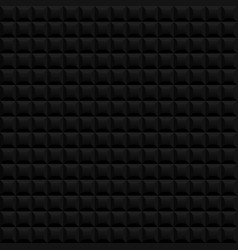 Black seamless pattern background vector