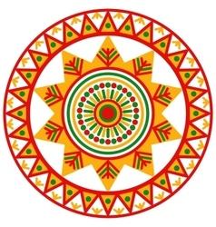 Filimonovo circular ornament vector