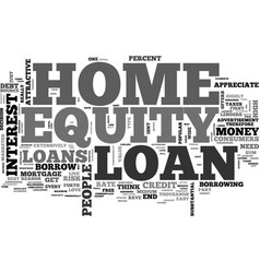 What you need to know about home equity loans vector