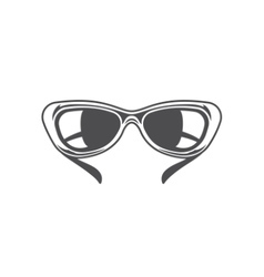 Sun Glasses Isolated on white background vector image