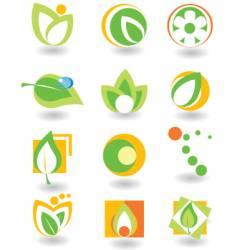 Elements nature vector