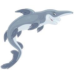 Goblin shark vector image