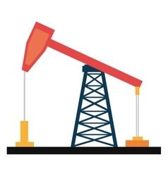 Colorful petro oil machine graphic vector