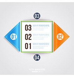 Infographic Template vector image