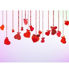 Valentines Day Background EPS 8 vector image