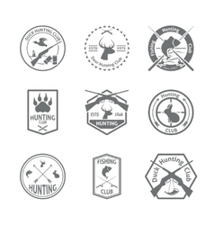 Set of hunting label vector