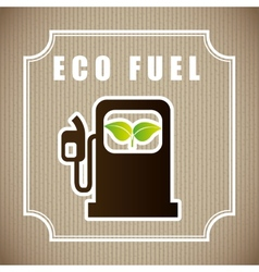eco fuel vector image