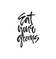 Food handdrawn lettering vector