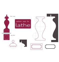Vase lathe vector