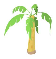 palm icon cartoon style vector image