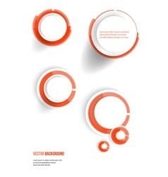 banner blank circles 20062013 vector image