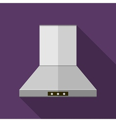 Flat icon for kitchen hood extractor vector