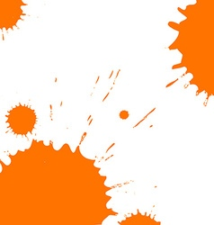 Blots and splashes vector