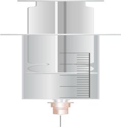 a Syringe vector image