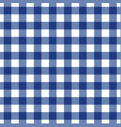 blue tablecloth pattern design vector image vector image
