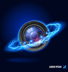 Photography high voltage vector image vector image