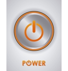 Power design illuistration vector image