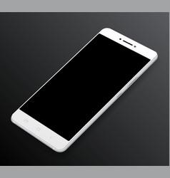 smartphone mockup vector image vector image