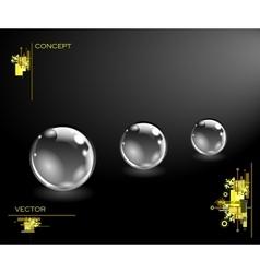 Realistic sphere vector
