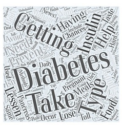 Preventing diabetes after having gestational vector