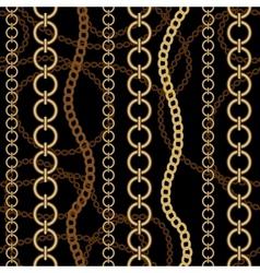 Fashion chain pattern vector