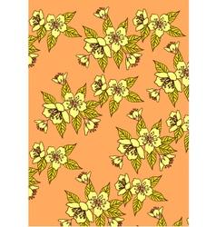 Banner sakura spring vector