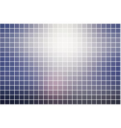 Pale pink blue square mosaic background over white vector