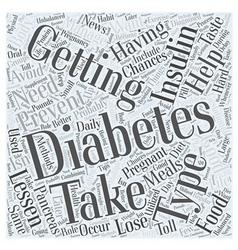 Preventing diabetes after having gestational vector
