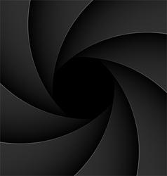 shutter aperture vector image vector image