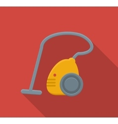 Vacuum cleaner flat icon vector