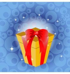 birthday gift vector image