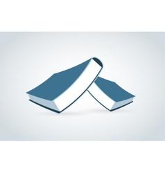Books logo icon vector